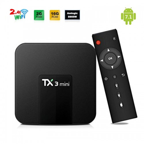 TX3 Mini 4K Amlogic S905W Quad core H.26...