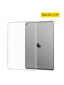 Trasparent Soft TPU Back Case For iPad Pro 12.9""
