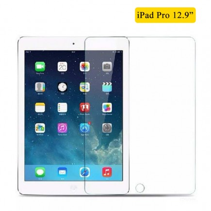 Tempered Glass Screen Protector For iPad Pro 12.9""
