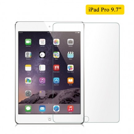 Tempered Glass Screen Protector For iPad Pro 9.7""