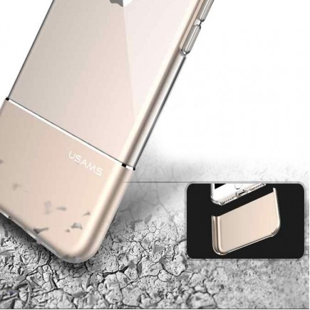 USAMS Luxury Ease Series TPU Case For iPhone 7 - Silver