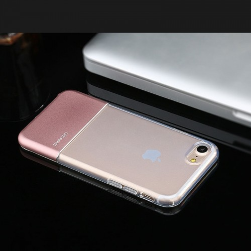 USAMS Luxury Ease Series TPU Case For iPhone 7 / 8 - Rose Gold