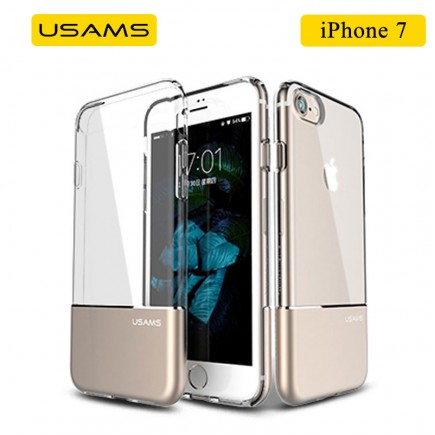 USAMS Luxury Ease Series TPU Case For iPhone 7 - Gold