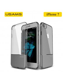 USAMS Luxury Ease Series TPU Case For iPhone 7 - Gray Iron