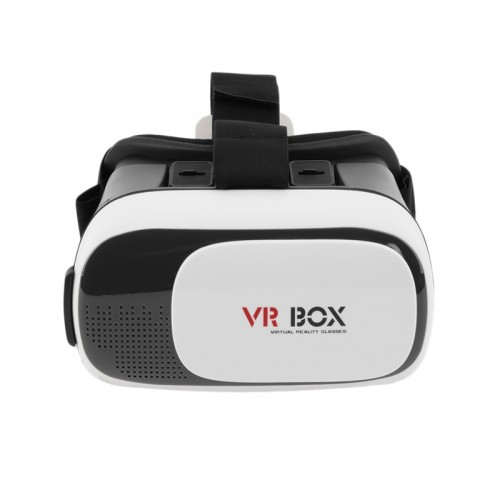 VR Box Virtual Reality 3D Glass for Smartphones - White