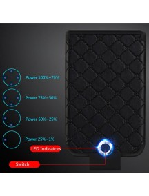 WUW Portable 3600 MAh Power Bank For IOS Devices - Black