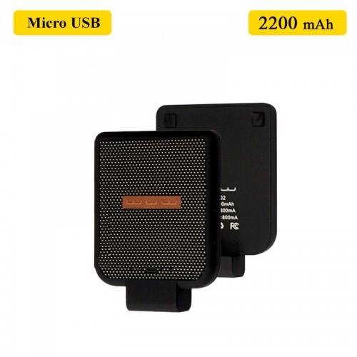 WUW Portable 2200 MAh Power Bank For Mic...