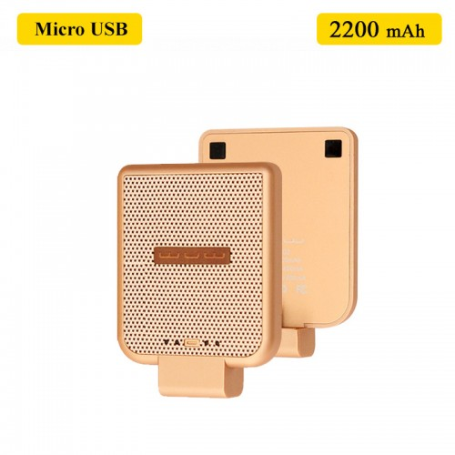 WUW Portable 2200 MAh Power Bank For Mic...