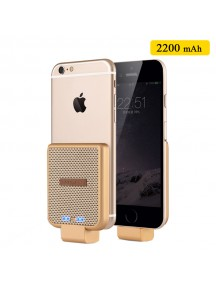 WUW Portable 2200 mAh Power Bank For IOS Devices - Gold