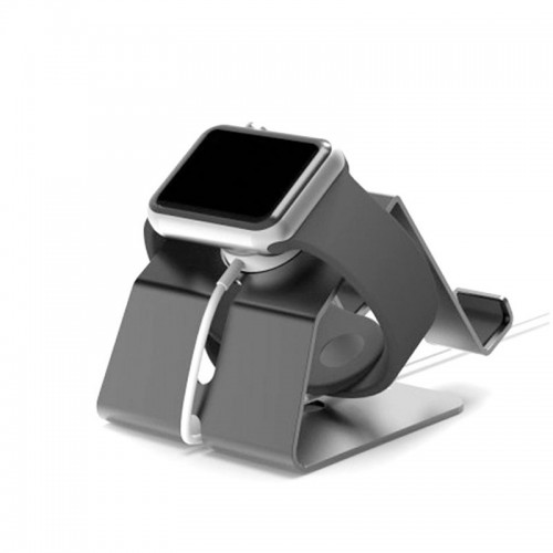 XUENAIR 2 in 1 Stand For Apple Watch , Smart Phones & Tablets - Silver