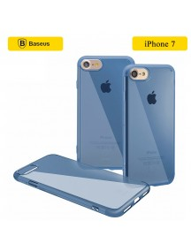 BASEUS Super Slim Anti Scratch TPU Case For iPhone 7 - Blue