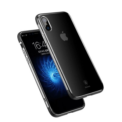 Baseus Armor Series TPU Case For iPhone X - Black