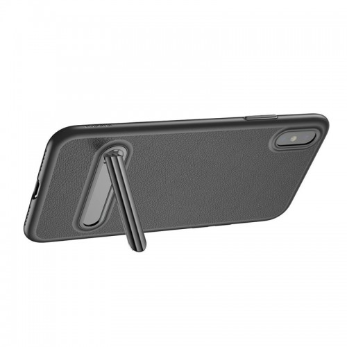 Baseus Kickstand Leather Case For iPhone...
