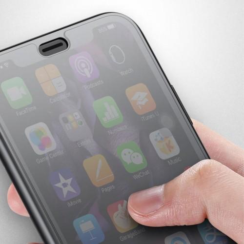 Baseus Luxury Flip Case For iPhone X - Black