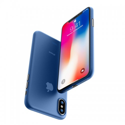 G-Case Couleur Series Slim Scrach Proof Case For iPhone X - Blue