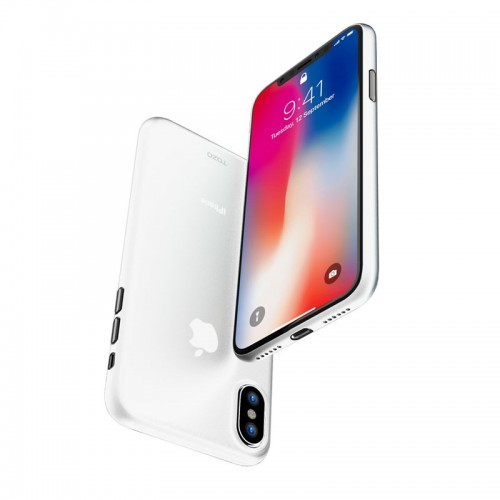G-Case Couleur Series Slim Scrach Proof Case For iPhone X - White