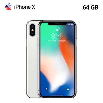 Apple iPhone X 64 GB - Silver