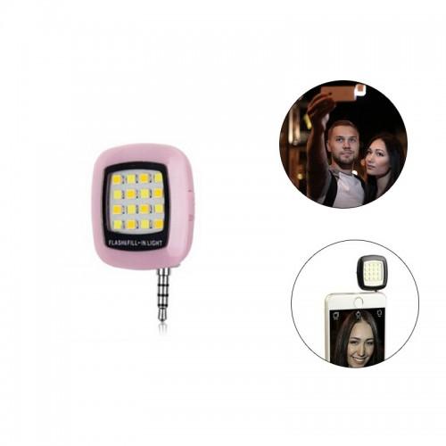 Built-in 16 LED Selfie Flash Light - Pin...