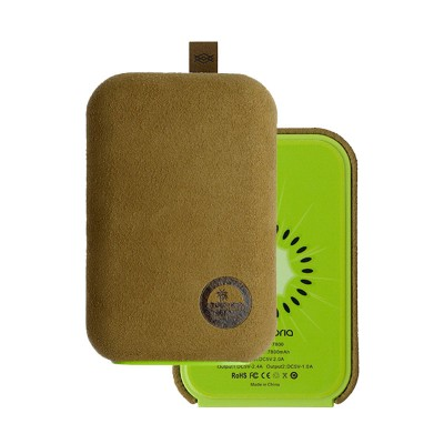 X-Doria Special Design 7800 mAh Fruit Power Bank - Kiwi