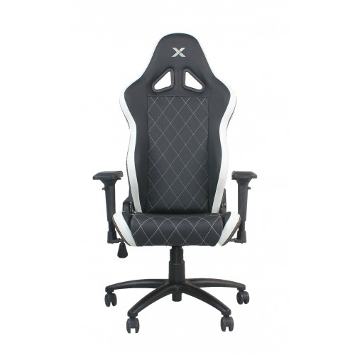 RapidX Ferrino Series Gaming Chair - Whi...