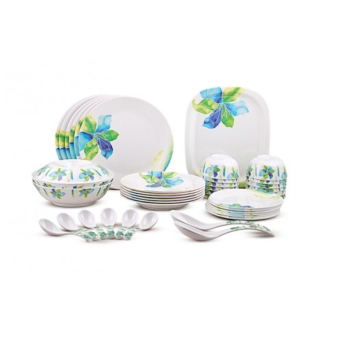 DINEWELL MELAMINE DINNER SET 42 PCS