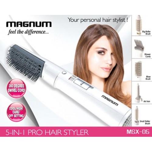 MAGNUM PRO HAIR STYLER 5 IN 1 MSX-05