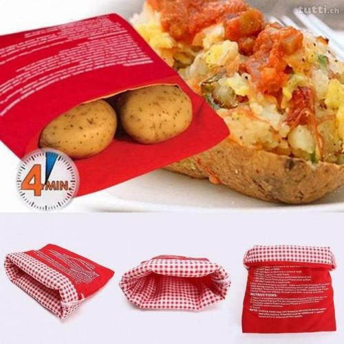Potato Express Microwave Potato Cooker -...