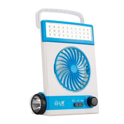 4 in 1 Portable Mini Solar Light Fan wit...