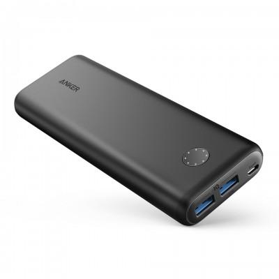 Anker PowerCore II 20000mAh 2 USB - Black