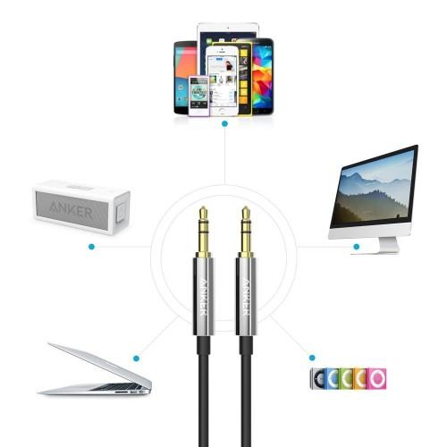 Anker Premium AUX Cable 1.2m - Black