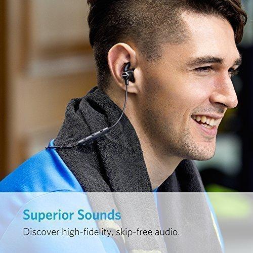 Anker SoundBuds Slim Wireless Headphones - Black