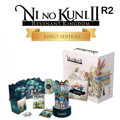Ni no Kuni 2 Kings Edition Game for PS4 ...