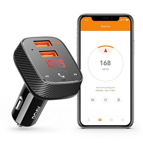 Roav SmartCharge Car Kit F2 - Black