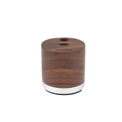 SAMDI Natural Wood Charging Dock Holder for Apple Pencil - Walnut