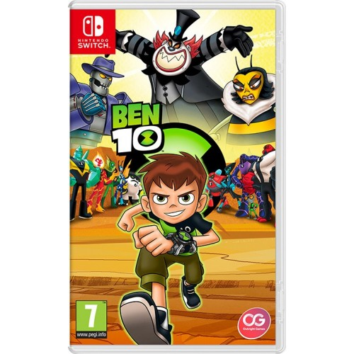 Ben 10 Game for Nintendo Switch