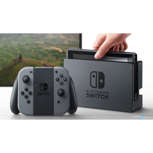 Nintendo Switch Portable Gaming Console - Gray Joy Con