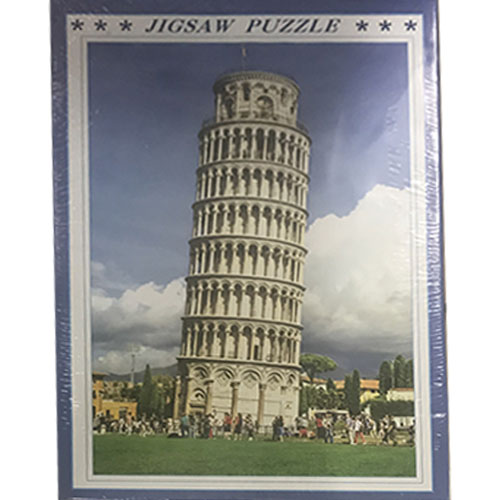 1000 Pieces Jigsaw Puzzle - The Leaning ...