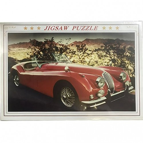 1000 Pieces Jigsaw Puzzle - Red Vintage ...