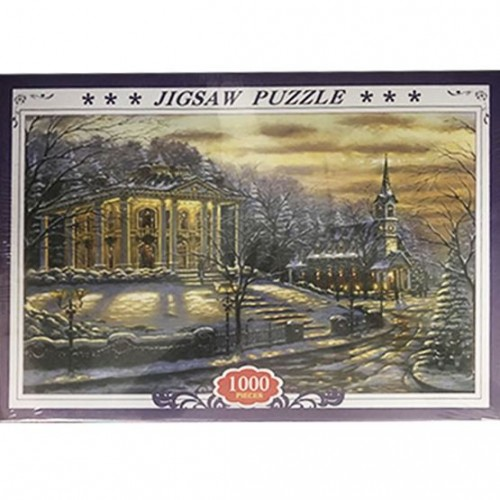 1000 Pieces Jigsaw Puzzle - Snow Cold