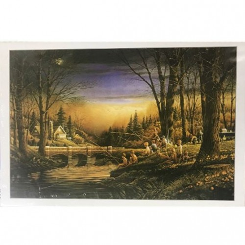 1000 Pieces Jigsaw Puzzle - Fishing Nigh...