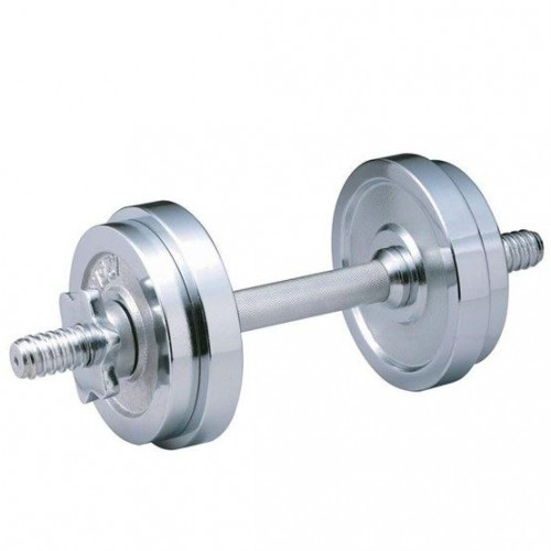 Chrome Dumbbell Plate Set 15 kg (Pair)