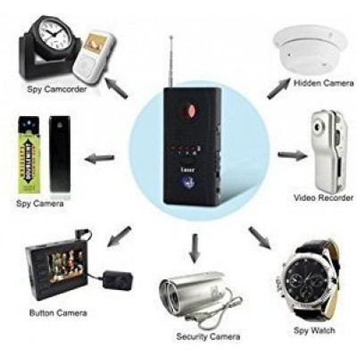 Spy Bug Detector  Mini Wireless Camera Hidden