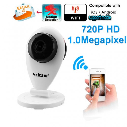 Camera WiFi Wireless HD 720P